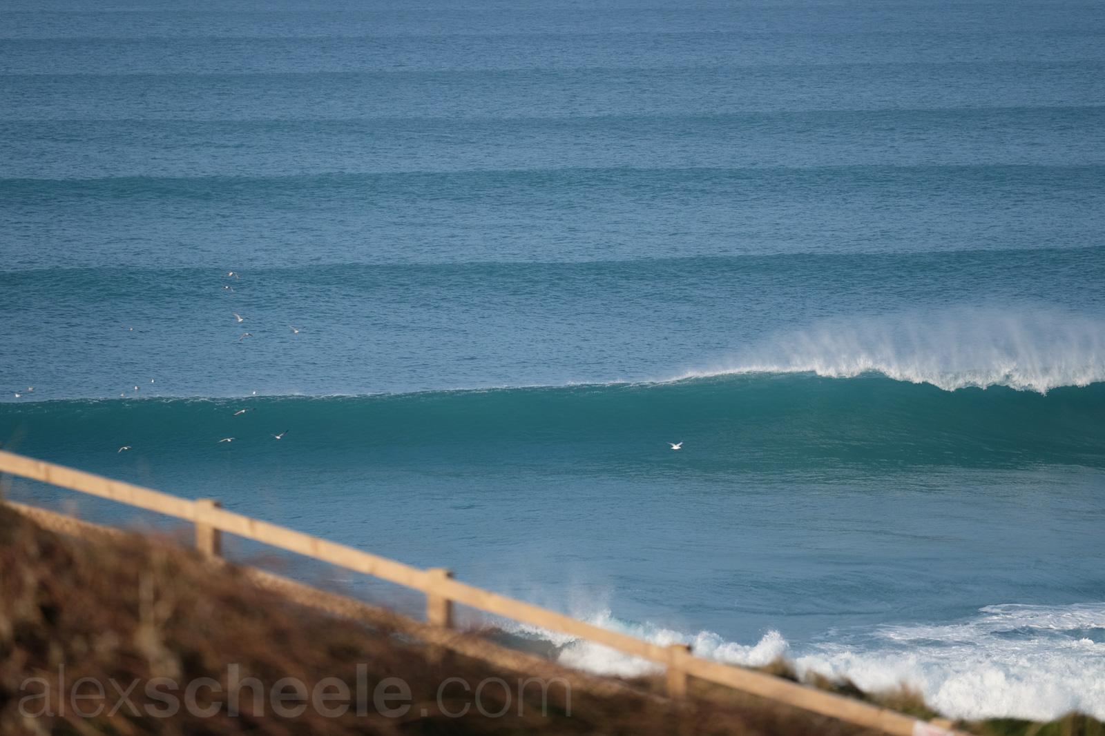 Cornish Winter Surf
